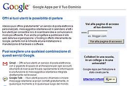 Google Apps Per il Tuo Dominio