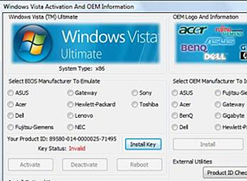 OEM BIOS Emulation Toolkit per Vista
