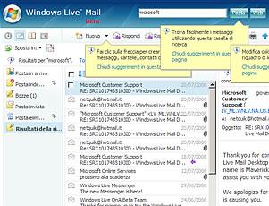 Windows Live Mail M8